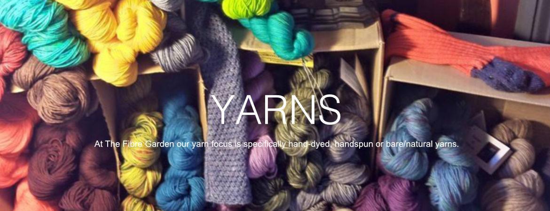 Yarn at The Fibre Garden