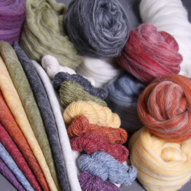 Alpaca/Merino Roving @ The Fibre Garden