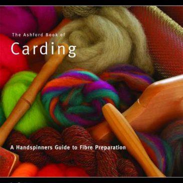 Ashford Book of Carding – NEW edition Dec 2016