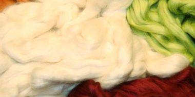 Cotton Fibres @ The Fibre Garden