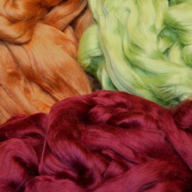 dyed cotton top@ The Fibre Garden