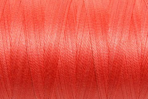 Ashford Mercerized Cotton – Coral Red 5/2