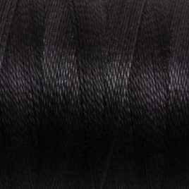 Ashford Mercerized Cotton – Jet Set Black 10/2