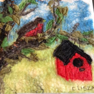 Art Felting Worksohp @ The Fibre Garden