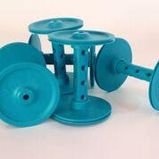 Majacraft Bobbin, Plastic – Standard EASTERN BLUE