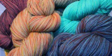 lace yarn @The Fibre Garden