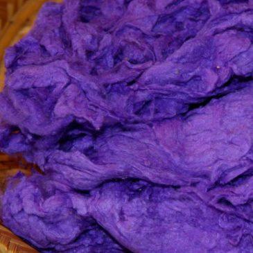 Silk Noils – Violet