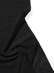 Regular Merino Prefelt – Black – 1/2 meter