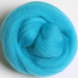 Corriedale Fluoro Blue