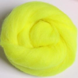 Corriedale Fluoro Yellow