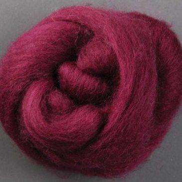 Corriedale Raspberry