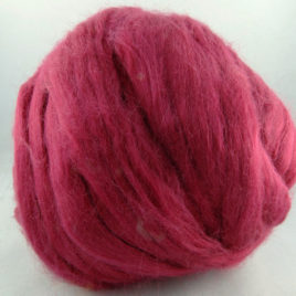 Tussah Silk Top – Raspberry