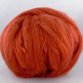 Tussah Silk Top – Rust
