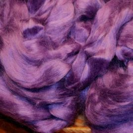 Tussah Silk Top – Violet