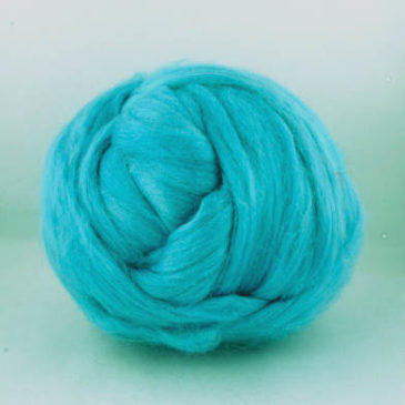 Tussah Silk Top – Aqua