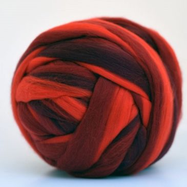 Super Streaker Merino – Red Roses
