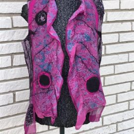 Felted Vest Workshop @ The Fibre Garden