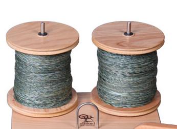 Ashford Jumbo Bobbin/e-Spinner – Lacquered