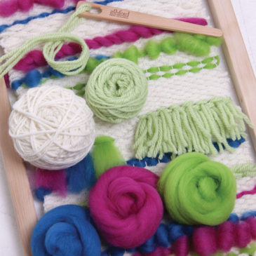 Ashford Weaving Starter Kit – Brights