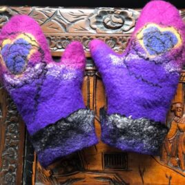 NEW!! Felted Mittens – Saturday November 28, 2020