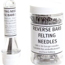 Felting Needles, Reverse – 10-pack