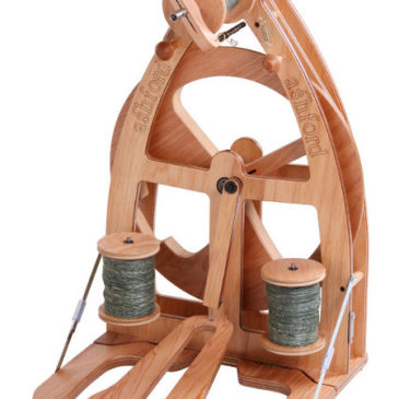 Ashford Joy 2 Wheel – Single Treadle & Carry Bag