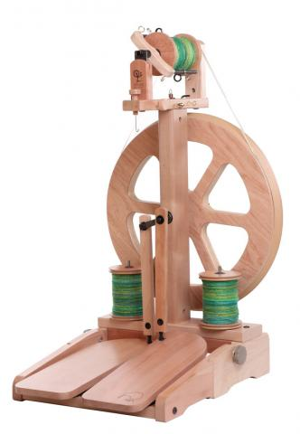 Ashford Kiwi 3 Spinning Wheel – Natural finish