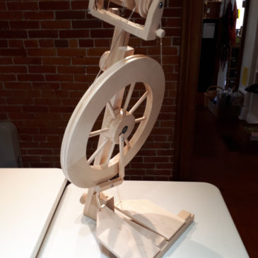 Lendrum Double Treadle Spinning Wheel – Complete