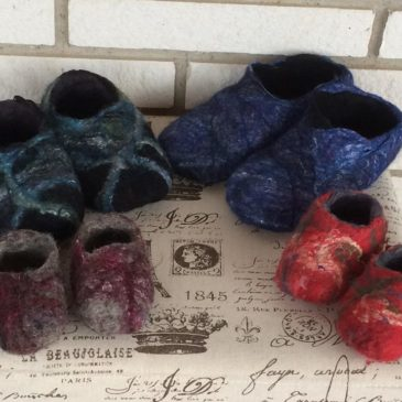 Cozy Felted Slippers – Saturday April 4, 2020
