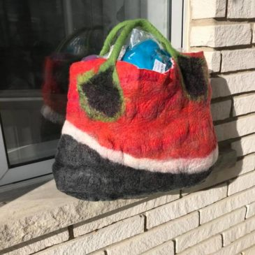 Felted Bag or Purse – Friday February 7, 2020