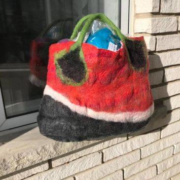 Felted Bag or Purse – Sunday November 8, 2020